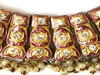 Handmade Enamel Choker Necklaces