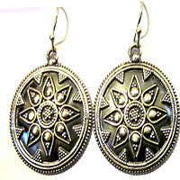 Silver Boho Earrings