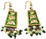 Handmade Meenakari Earrings