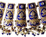 Handmade Enamel Choker Necklaces